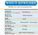 Тампопечатный станок на 1 цвет (открытого типа) TM-MINI-B , фото 2