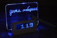 "Цифровые настольные часы ""ASUS Light LCD Digital Screen Memo Time,USB HUB 4 Port,Alarm Clock"""