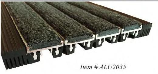 Алюминиевое входное покрытие