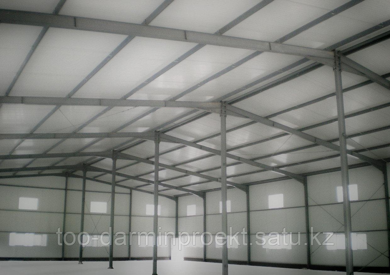 Проектирование производственных и промышленных помещений