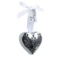 Декор Сердце ароматическое серебристое d5x2см KA514976