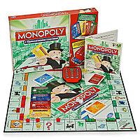 Монополия. Банк без границ. Новое издание. Настольная экономическая игра. Хасбро, фото 1