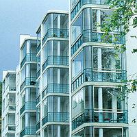 Безрамное остекление балкона, фото 1