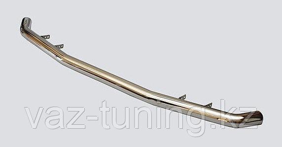 Защита заднего бампера «Коромысло» (хромированное покрытие) Нива Шевроле 2123 RS