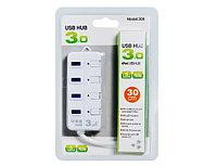 """Концентратор """"HUB USB 3.0,Hi-Speed,5Gbps, 4 Port (возможность поочередного отключения портов)  M:CQT-308"""""""