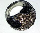 """Кольцо-перстень """"Черный бриллиант"""", фото 3"""