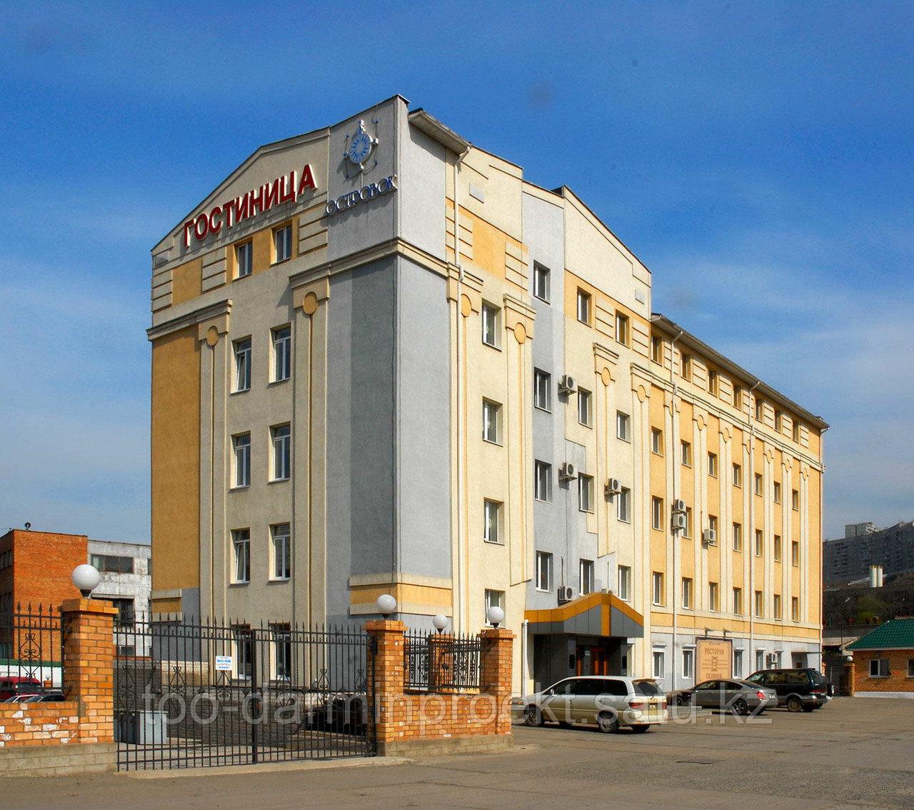 Архитектурное и инженерное проектирование гостиниц