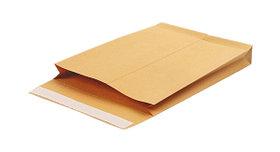 Конверт-пакет 300х400мм,120гр,объемный,коричневый,с отрывной полосой по короткой стороне Blasetti