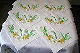 Вышивка на салфетках для расторанов, фото 2