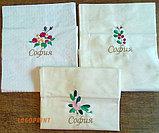 Вышивка на салфетках для расторанов, фото 3