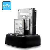 """Док станция """"SATA HDD Docking Station to 2.5"""" & 3.5"""" HDD-compatible,up to 2TB,5Gbps,USB 3.0 M:YPZ09-U3"""""""