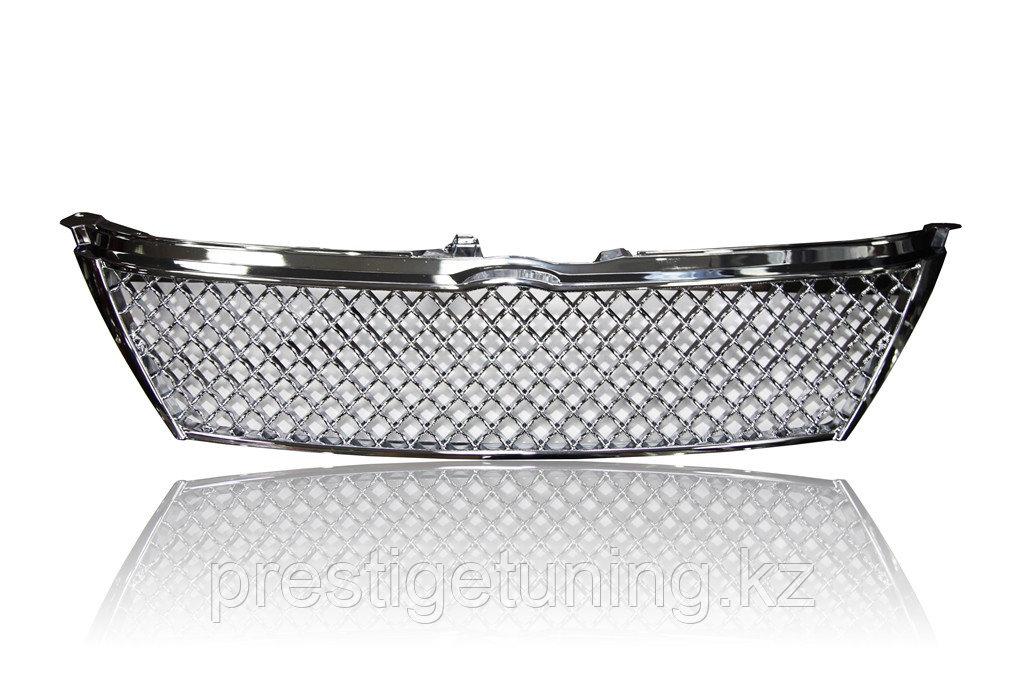 Решетка радиатора на Camry V50 2011-14 дизайн Bentley Хром