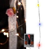 Гирлянда нить 1м 20ламп разноцветная LED KA482391