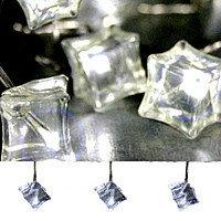 Гирлянда светодиод. Льдинки белые 3,8м 462-08
