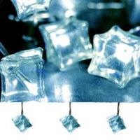 Гирлянда светодиод. Льдинки голубые 3,8м 462-09