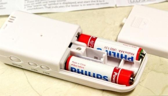 Батарейный отсек персонального алкотестера SITITEK PRO2