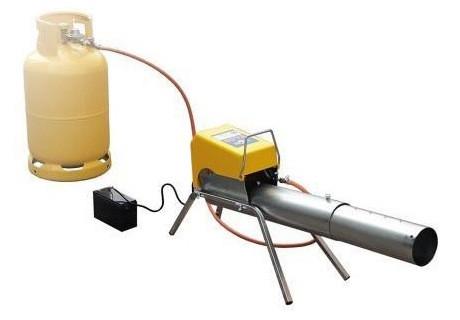 Одного 10-литрового баллона с газом хватит примерно на год умеренной эксплуатации отпугивателя