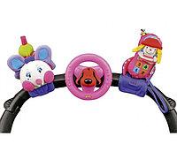 Счастливое трио: Гусеница, руль и мобильный телефон на креплении, фото 1