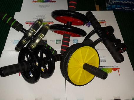 Ролик с ручками или колесо для пресса, фото 2