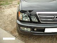 Накладки на фары (реснички) Lexus LX470