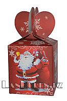 """Подарочная новогодняя упаковка """"Веселый Санта"""""""