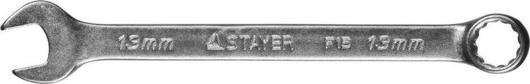 """Ключ STAYER """"MASTER"""" гаечный комбинированный, хромированный, 17мм"""