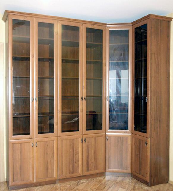 Книжные шкафы, полки для книг,мебель для библиотеки
