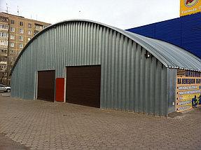 """Пристройка здания мастерской по ремонту колес к действующему автокомплексу """"Мустанг"""""""