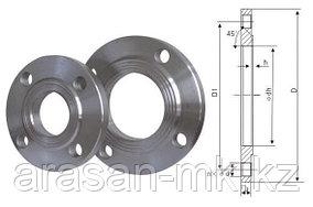 Фланцы стальные приварные РУ10 Ду80 ГОСТ 12820-80