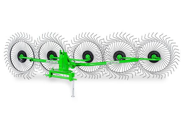 Грабли - ворошилки 4-х колёсные