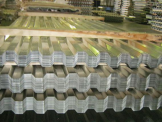Профнастил оцинкованный 0,55 мм толщина НС20, НС21, НС35, НС44, НC57