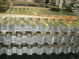 Профнастил оцинкованный 0,6 мм толщина НС20, НС21, НС35, НС44, НC57