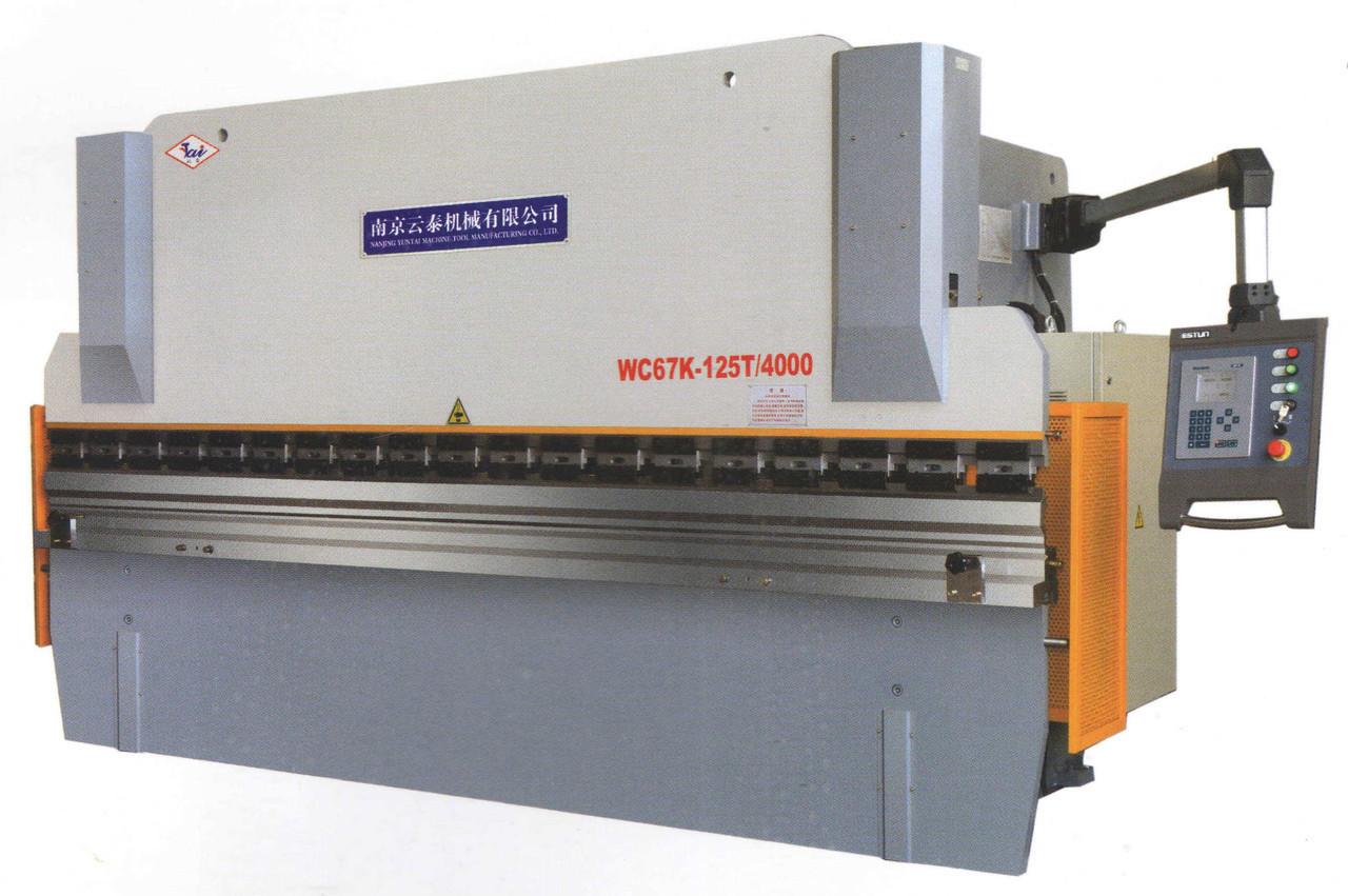 Листогиб гидравлический WC67Y-125T/3200 (Yuntai)