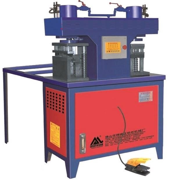 Пресс пробивной для труб  WZ-RO125PV2-1 полуавтомат