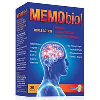 Улучшение памяти и внимания, препарат Memobiol (Мемобиол)