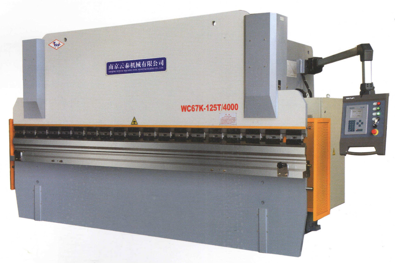 Листогиб гидравлический WC67Y-160T/3200 (Yuntai)