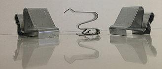 Пружинная защелка 15 оцинк. (Распорные крепления для вент. решеток) (HR)