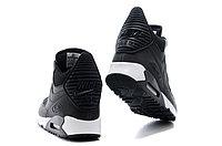 Зимние кроссовки Nike Air Max 90 Sneakerboot Black White (40-45), фото 4