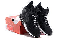 Зимние кроссовки Nikе Air Max 90 Sneakerboot Black White (40-45), фото 5
