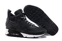 Зимние кроссовки Nikе Air Max 90 Sneakerboot Black White (40-45)