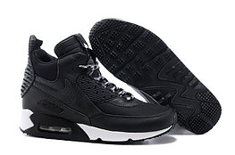 Зимние кроссовки Nikе Air Max 90 Sneakerboot Black White (40-45)