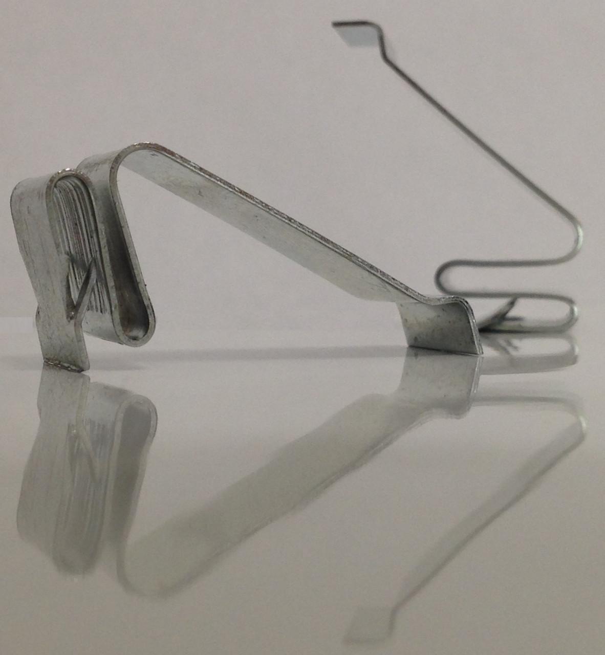 Пружинная защелка 25 оцинк. (Распорные крепления для вент. решеток) (HR)