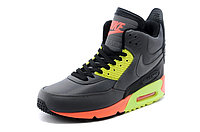Зимние кроссовки Nikе Air Max 90 Sneakerboot Grey Lumigreen Carrot (40-45), фото 2