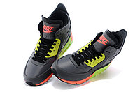 Зимние кроссовки Nikе Air Max 90 Sneakerboot Grey Lumigreen Carrot (40-45), фото 3