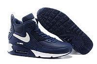 Зимние кроссовки Nikе Air Max 90 Sneakerboot Blue White (40-45)