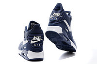 Зимние кроссовки Nike Air Max 90 Sneakerboot Blue White (40-45), фото 4