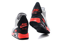 Зимние кроссовки Nikе Air Max 90 Sneakerboot Grey Red Black (40-45), фото 4