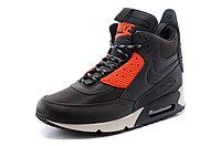 Зимние кроссовки Nike Air Max 90 Sneakerboot Brown Orange (40-45), фото 2