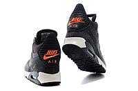 Зимние кроссовки Nike Air Max 90 Sneakerboot Brown Orange (40-45), фото 4