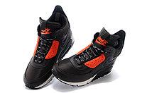 Зимние кроссовки Nike Air Max 90 Sneakerboot Brown Orange (40-45), фото 3